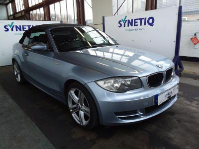Image of 2008 BMW 1 SERIES 120I SE 1995cc PETROL MANUAL 2 DOOR CONVERTIBLE