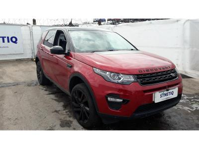 2016 LAND ROVER DISCOVERY SPORT TD4 HSE BLACK