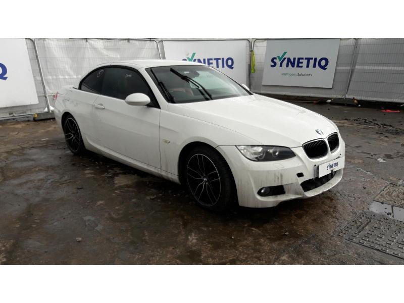 2009 BMW 3 SERIES 320D M SPORT 1995cc TURBO DIESEL AUTOMATIC 6 Speed 2 DOOR CONVERTIBLE