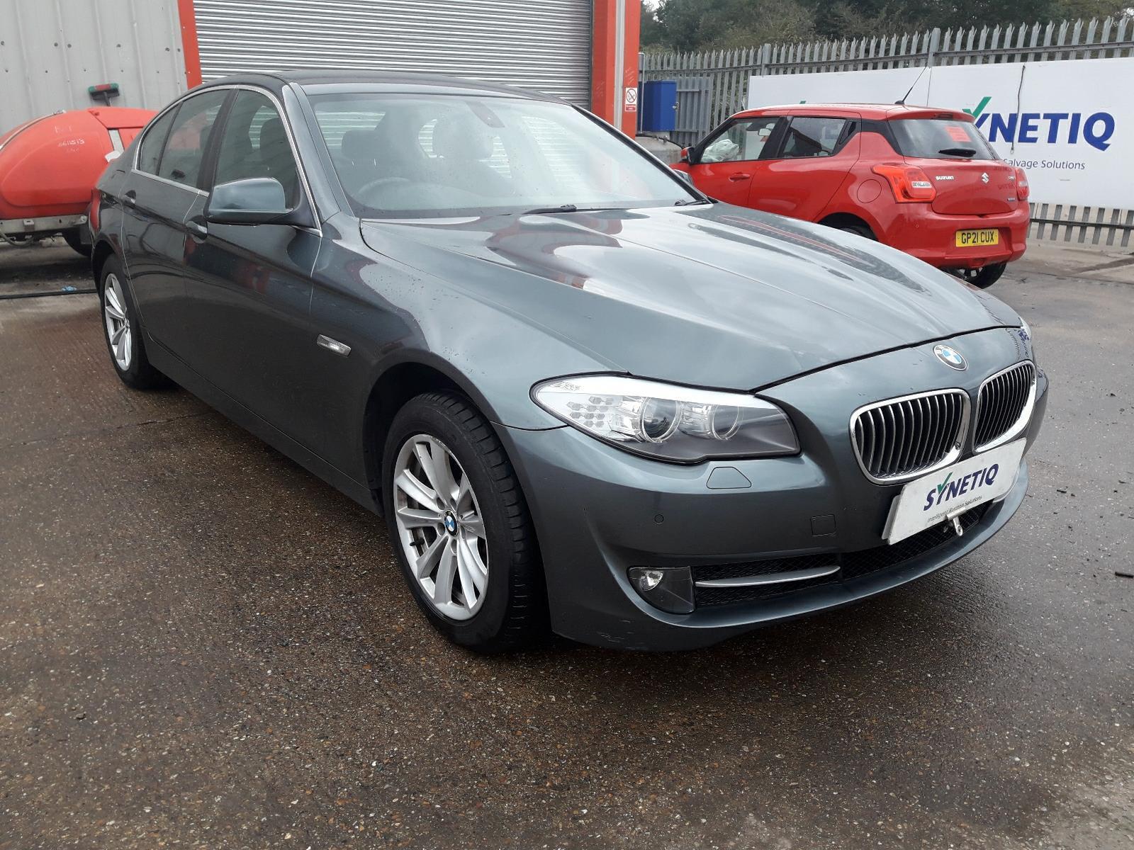 2011 BMW 5 SERIES 525D AC 2993cc TURBO DIESEL AUTOMATIC 8 Speed 4 DOOR SALOON