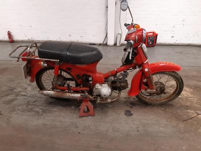 Image of 1982 HONDA C90 PETROL MOTORCYCLE