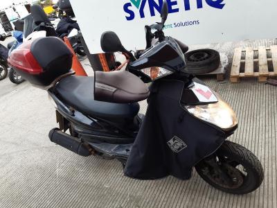 Image of 2010 YAMAHA XC 125 CYGNUS X 124cc MOTORCYCLE