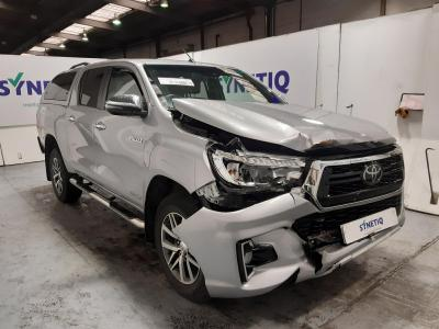 Image of 2019 TOYOTA HI-LUX INVICIBLE X 4WD D-4D DCB 2393cc TURBO DIESEL AUTOMATIC PICK UP