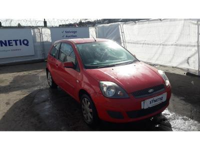 Image of 2007 FORD FIESTA SILVER LIMITED 1242cc PETROL MANUAL 5 Speed 3 DOOR HATCHBACK