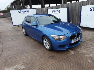 Image of 2013 BMW 1 SERIES 116D M SPORT 1995cc TURBO DIESEL MANUAL 5 DOOR HATCHBACK