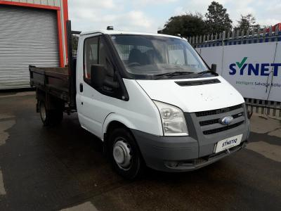 Image of 2008 FORD TRANSIT 350 MWB 2402cc TURBO DIESEL MANUAL 5 Speed CHASSIS CAB