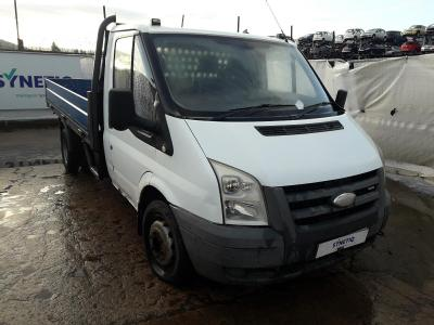 Image of 2007 FORD TRANSIT 350 MWB 2402cc TURBO DIESEL MANUAL 5 Speed CHASSIS CAB
