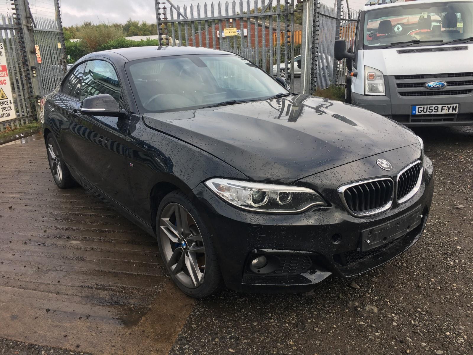 2015 BMW 2 SERIES 225D M SPORT 1995cc TURBO DIESEL AUTOMATIC 2 DOOR COUPE