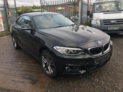 Image of 2015 BMW 2 SERIES 225D M SPORT 1995cc TURBO DIESEL AUTOMATIC 2 DOOR COUPE