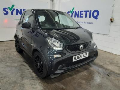 2016 SMART FORTWO COUPE EDITION BLACK 999cc PETROL MANUAL 2 DOOR COUPE