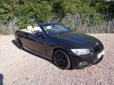 Image of 2011 BMW 3 SERIES 320D CONVERTIBLE 1995cc Diesel 6SPD RWD CONVERTIBLE