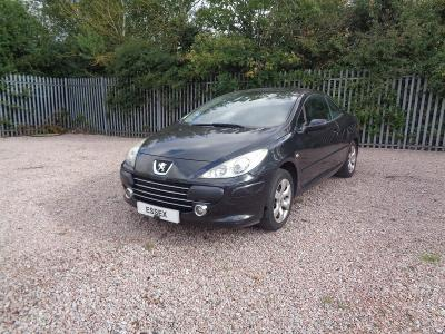Image of 2006 PEUGEOT 307 S COUPE CABRIOLET 1587cc 5SPD MAN FWD CONVERTIBLE