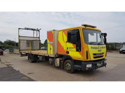 Image of 2011 Iveco Eurocargo 75E18 3920cc Turbo Diesel Lorry