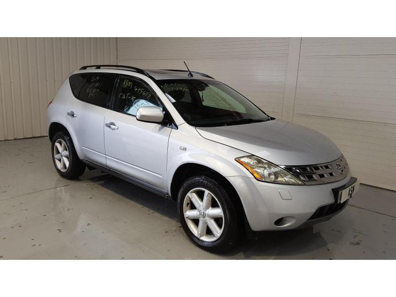 2006 Nissan Murano 3498cc Petrol Sequential Automatic 1 Speed 5 Door 4x4