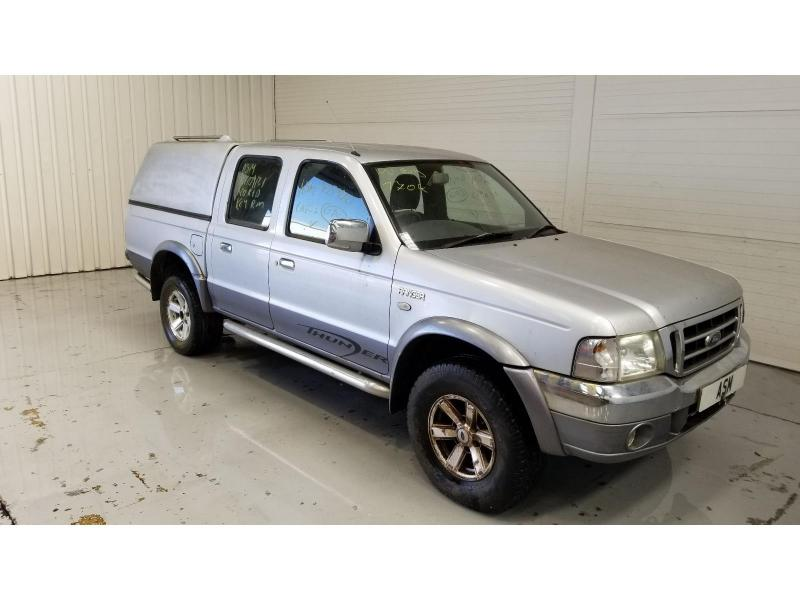 2004 Ford Ranger Double Cab 4WD 2499cc Turbo Diesel Manual 5 Speed Pick-Up