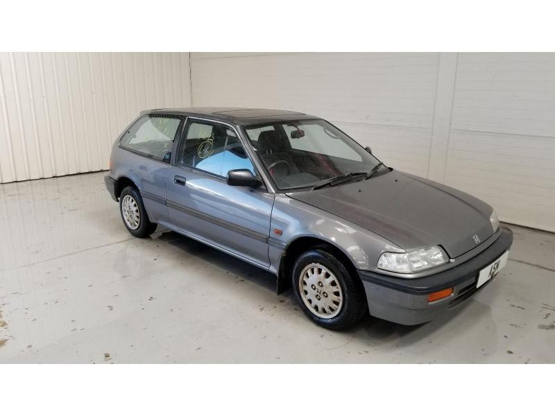 1988 Honda Civic GL AUTO 1396cc Petrol Automatic 4 Speed 3 Door Hatchback