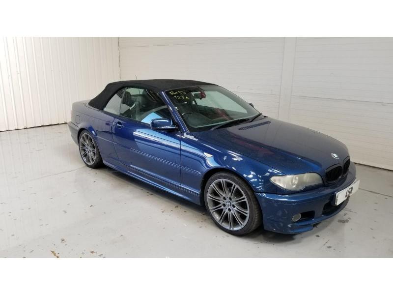 2004 BMW 3 Series 318 Ci Sport 1995cc Petrol Manual 5 Speed 2 Door Cabriolet
