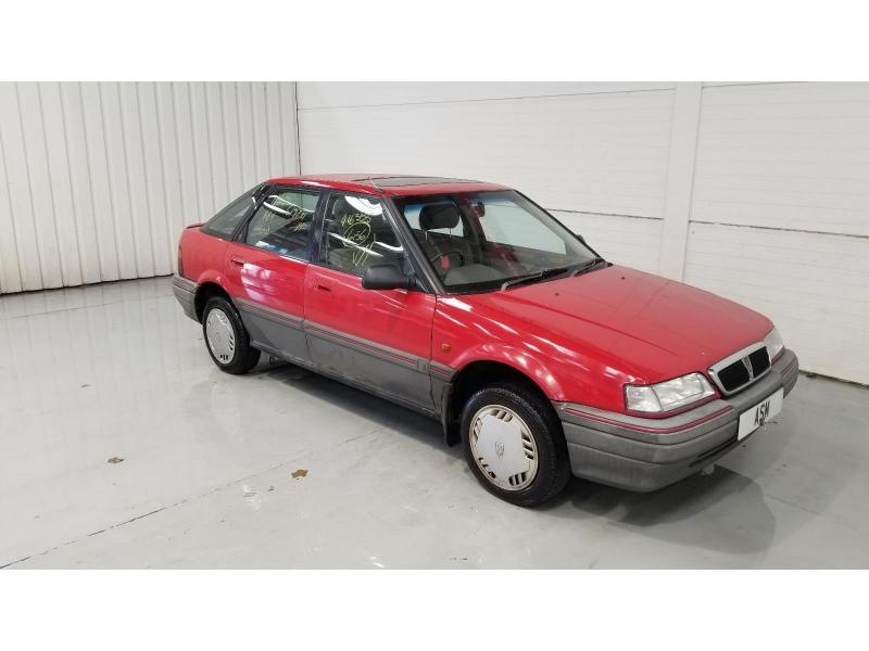 1990 Rover 200 216 GSi 1590cc Petrol Manual 5 Speed 5 Door Hatchback