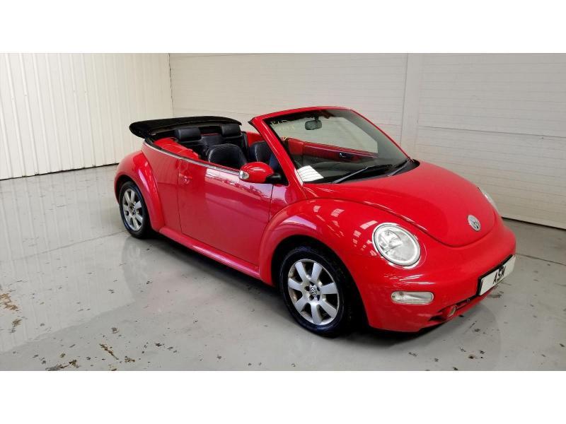 2003 Volkswagen Beetle 1984cc Petrol Manual 5 Speed 2 Door Cabriolet