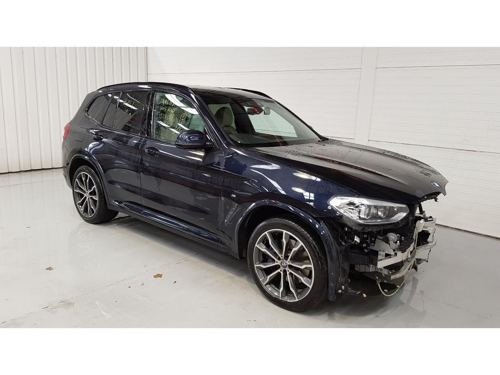 2018 BMW X3 XDRIVE30D M SPORT 2993cc Turbo Diesel Automatic 8 Speed 5 Door Estate