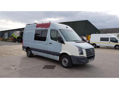 Image of 2007 Volkswagen Crafter CR35 MWB 2461cc Turbo Diesel Manual 6 Speed Chassis Cab
