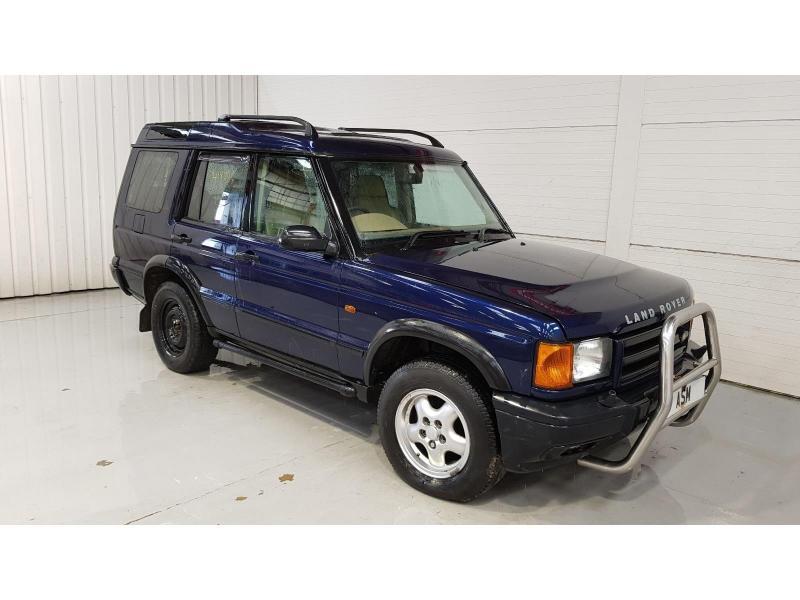 2001 Land Rover Discovery ES 2495cc Turbo Diesel Manual 5 Speed 5 Door 4x4