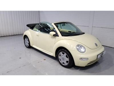 Image of 2006 Volkswagen Beetle 1896cc Turbo Diesel Manual 5 Speed 2 Door Cabriolet