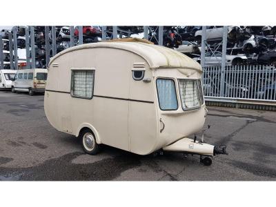 Image of Vintage 1960s Cheltnam Fawn Caravan
