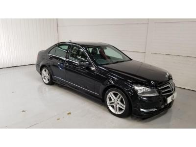 Image of 2014 Mercedes-Benz C Class C220 CDI AMG SPORT EDITION PRE 2143cc Turbo Diesel Automatic 7 Speed 4 Door Saloon