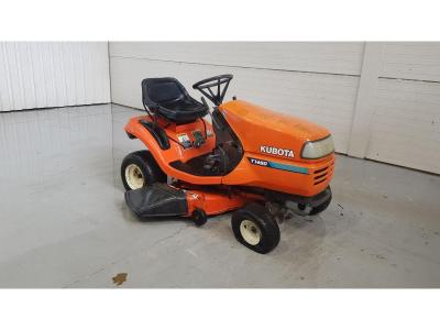 Image of Kubota T1460 Ride on Mower With Accessories