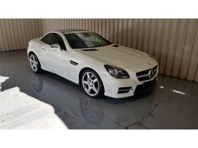 Image of 2012 Mercedes-Benz SLK 250 AMG Sport CDi 2143cc Turbo Diesel Automatic 7 Speed 2 Door Cabriolet