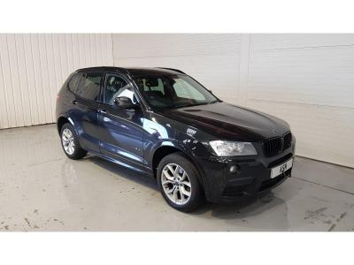 Image of 2013 BMW X3 XDrive20d M Sport 4WD 1995cc Turbo Diesel Automatic 8 Speed 5 Door Estate