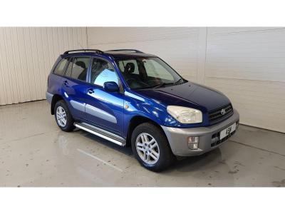 Image of 2001 Toyota Rav4 GX 1998cc Petrol Automatic 4 Speed 5 Door 4x4