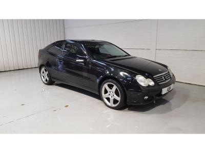 Image of 2004 Mercedes-Benz C Class C180k SE 1796cc Super Petrol Sequential Automatic 5 Speed 3 Door Coupe