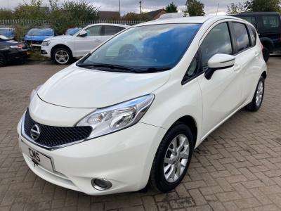 Image of 2015 Nissan Note Dci Acenta 1461cc Turbo Diesel Manual Mpv