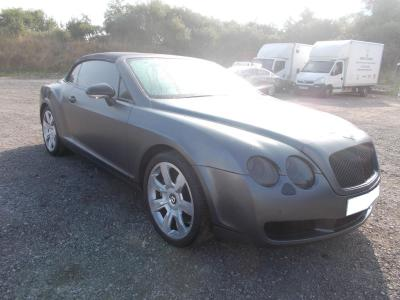 Image of 2009 BENTLEY CONTINENTAL GTC 5998cc TURBO PETROL AUTOMATIC 6 Speed Convertible