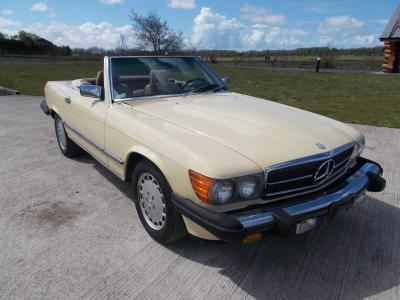 Image of 1986 MERCEDES-BENZ 560SL 5500cc PETROL AUTOMATIC Coupe