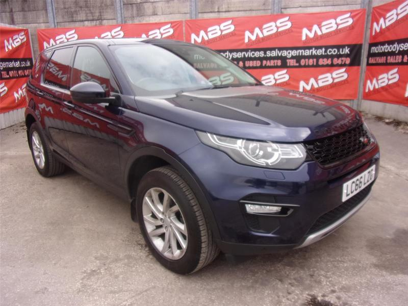 2016 LAND ROVER DISCOVERY SPORT TD4 SE TECH 1999cc TURBO DIESEL AUTOMATIC 9 Speed Estate