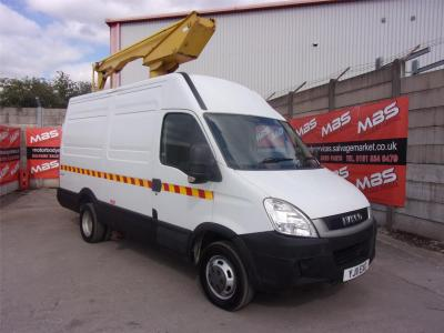 Image of 2011 IVECO DAILY 50C15V 2998cc TURBO DIESEL MANUAL CHEERY PICKER / TOWER WAGON