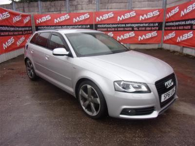 Image of 2011 AUDI A3 SPORTBACK TDI S LINE SPECIAL EDITION 1968cc TURBO DIESEL MANUAL 6 Speed 5 DOOR HATCHBACK