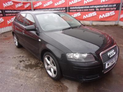 Image of 2006 AUDI A3 TDI SPORT SPECIAL EDITION 1896cc TURBO DIESEL MANUAL 5 Speed 5 DOOR HATCHBACK