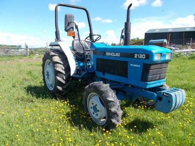 Image of FORD 2120 COMPACT TRACTOR 2300cc DIESEL MANUAL 12 Speed Tractor