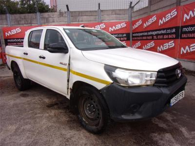 Image of 2018 TOYOTA HI-LUX ACTIVE 4WD D-4D DCB 2393cc TURBO DIESEL MANUAL 6 Speed LIGHT 4X4 UTILITY