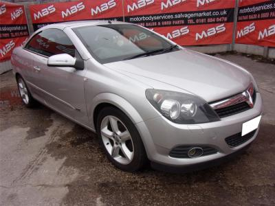 Image of 2008 VAUXHALL ASTRA TWIN TOP SPORT 1598cc PETROL MANUAL 5 Speed Convertible