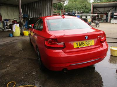 Image of 2016 Bmw 2 Series 218d Sport 1995cc Turbo Diesel Manual 6 Speed 6 Coupe