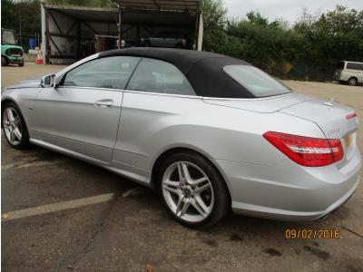 Image of 2011 Mercedes E-class E350 Cdi Blueefficiency Sport 2987cc Turbo Diesel Automatic 7 Speed 7 Convertible