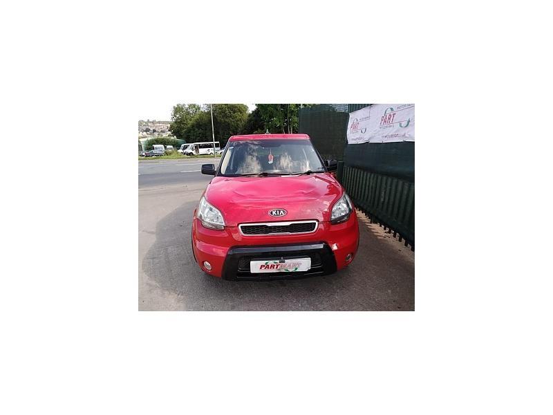 2009 KIA SOUL SAMBA CRDI 1582cc TURBO DIESEL MANUAL 5 Speed 5 DOOR HATCHBACK