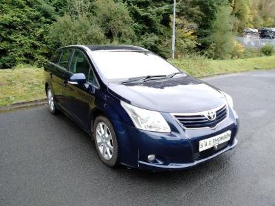Image of 2009 TOYOTA AVENSIS TR D-4D 2231cc TURBO DIESEL MANUAL 6 Speed ESTATE