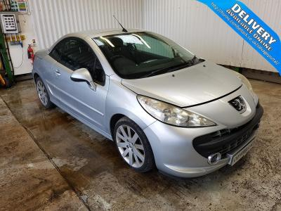 Image of 2008 PEUGEOT 207 GT COUPE CABRIOLET 1598cc PETROL MANUAL 5 Speed 2 DOOR CONVERTIBLE