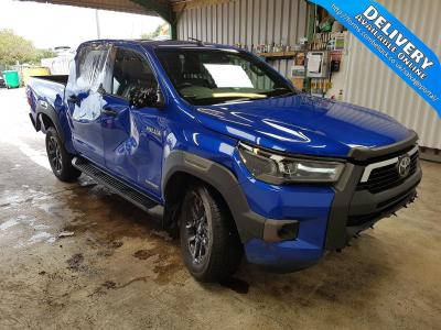 Image of 2021 TOYOTA HI-LUX INVINCIBLE X 4WD D-4D DCB 2755cc TURBO DIESEL AUTOMATIC PICK UP